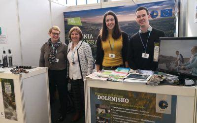 Obiščite destinacijo Dolenjska na mednarodnem turističnem sejmu Alpe Adria