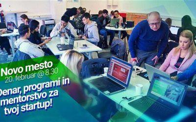 54.000 EUR zagonske spodbude čaka nova podjetja – Roadshow Novo mesto 2020