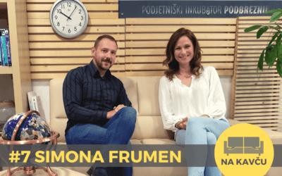 Na kavču #7 – Simona Frumen