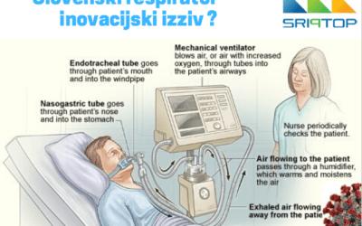 Slovenski respirator – preveritev uresničljivosti zamisli