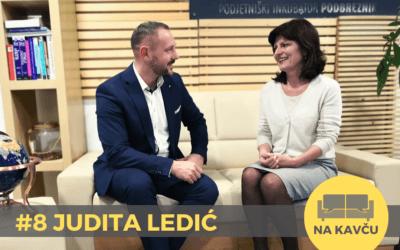 Na kavču #8 – Judita Ledić: Brez osebnega razvoja ni poslovnega uspeha