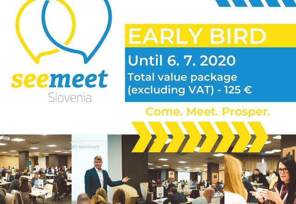 SEEMEET SLOVENIA 2020 – Edinstvena priložnost za iskanje novih poslovnih partnerstev