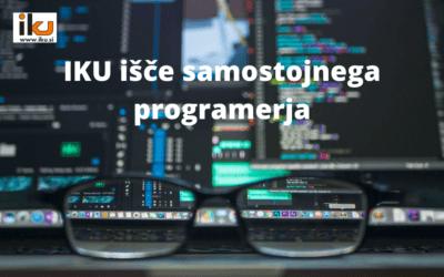 Podjetje IKU d.o.o. išče samostojnega programerja