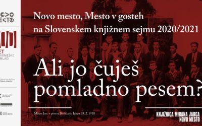 Novo mesto na e-Slovenskem knjižnem sejmu – sodeluje tudi Razvojni center Novo mesto