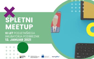 Praznujemo! Spletni meetup – 10 let Podjetniškega inkubatorja Podbreznik