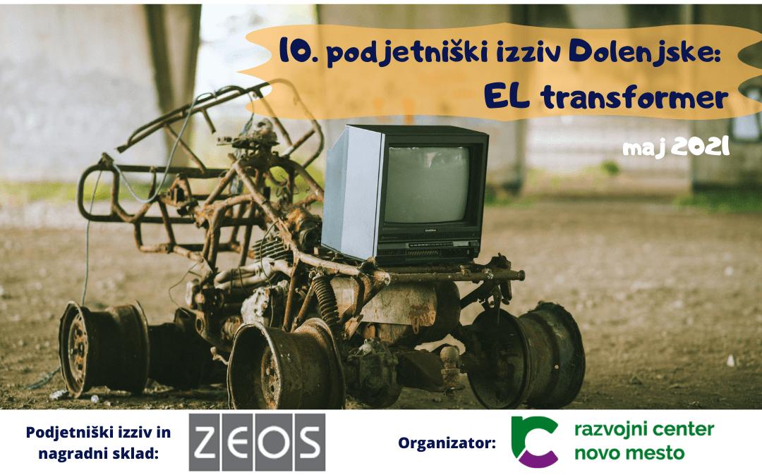 10. Podjetniški izziv Dolenjske: El transformer