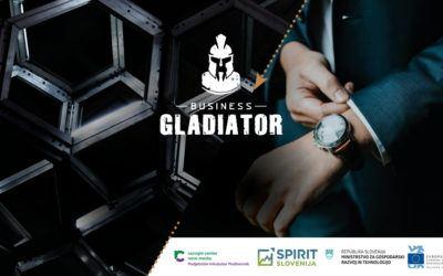 NOVO! Program Business Gladiator za prave poslovne ideje. PRIJAVITE SE
