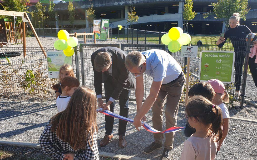 New playground in Portoval