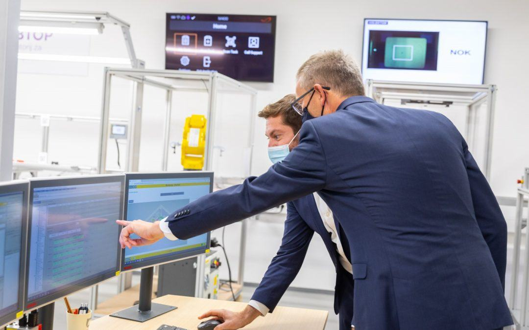 Zagon Laboratorija za tovarne prihodnosti (LABTOP)